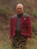 Captain Picard Star Trek Next Generation Red Jacket