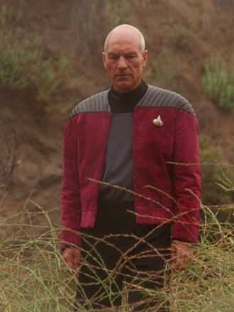 Captain Picard Star Trek Next Generation Red Jacket