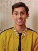 Carlos High School Musical Suede Bomber Jacket
