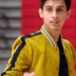 Carlos High School Musical Yellow Bomber Jacket