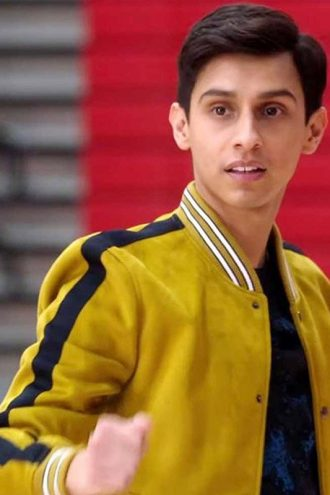 Carlos High School Musical Yellow Bomber Jacket
