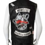 Deacon St. John Days Gone Black Leather Vest