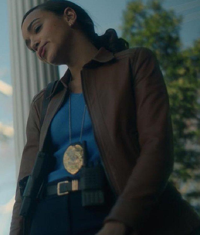Detective Eudora Patch The Umbrella Academy Leather Jacket