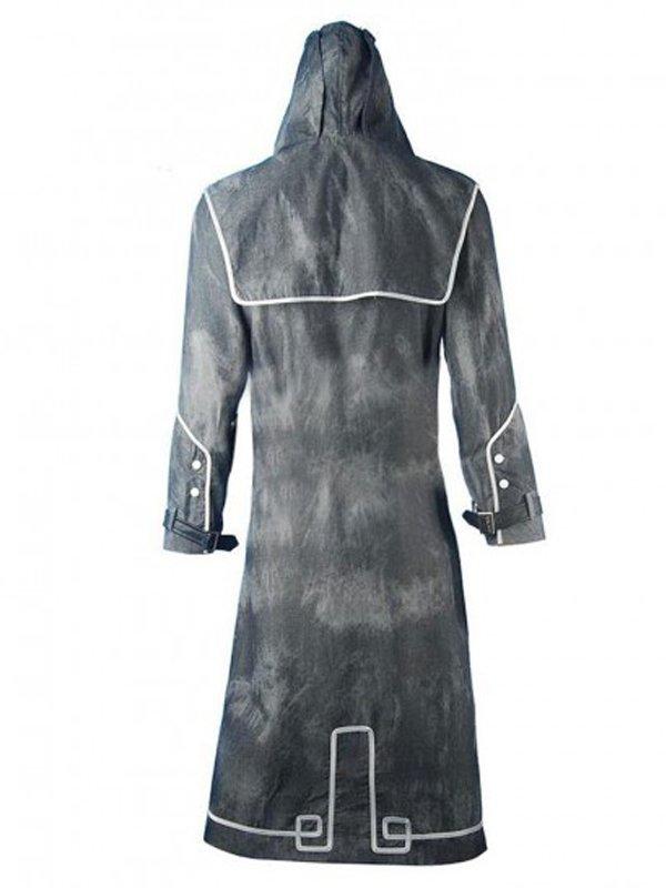Dishonored Corvo Attano Black Trench Coat