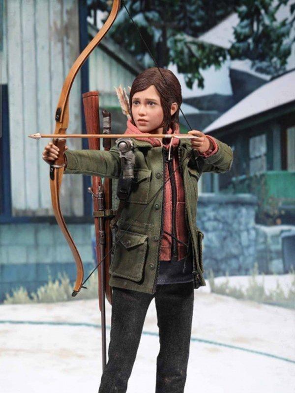 Ellie The Last Of Us Part II Green Cotton Jacket