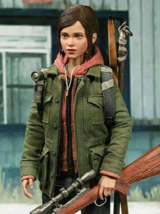 Ellie The Last Of Us Part II Military Green Jacket
