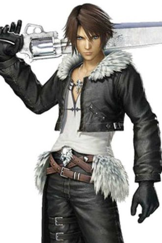 Final Fantasy Squall Leonhart Leather Jacket