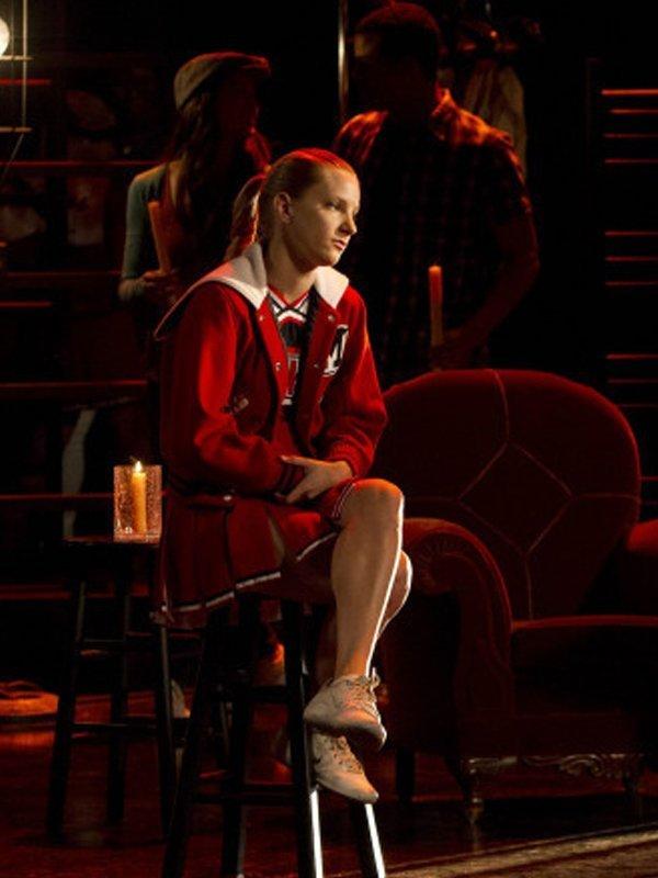 Glee Cheerios Cheerleading Red and White Jacket