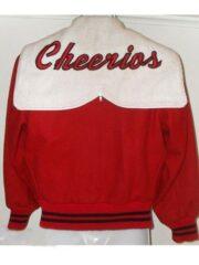Glee Cheerios Cheerleading Red and White Varsity Jacket