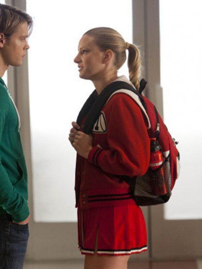 Glee Cheerios Cheerleading Wool Varsity Jacket
