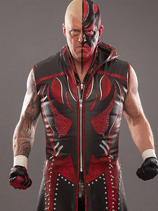 Goldust All Elite Wrestling Leather Coat
