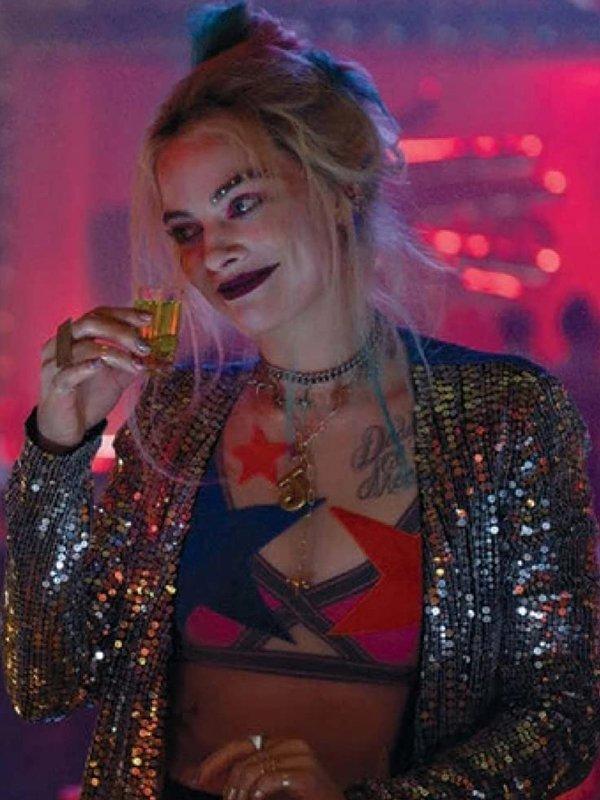 Harley Quinn Birds Of Prey Duster Coat