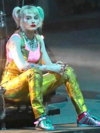 Harley Quinn Golden Romper