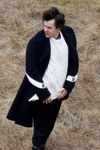 Harry Styles Sign Of the Times Wool Coat