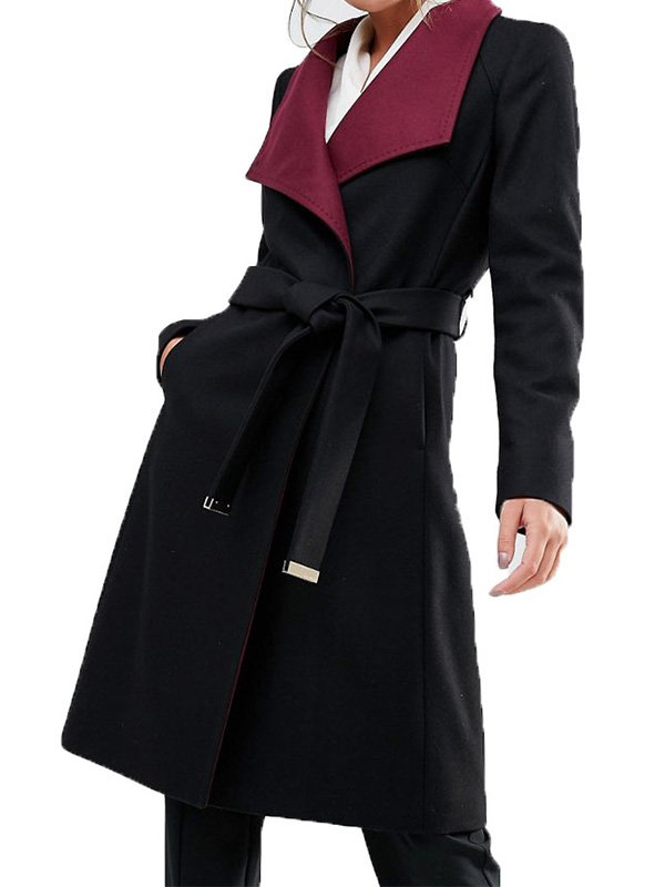 Hermione Lodge Riverdale Black Trench Coat