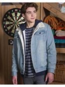 High School Musical Joshua Bassett Blue Denim Jacket