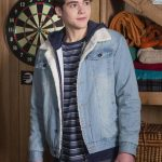 High School Musical Joshua Bassett Blue Denim Jacket