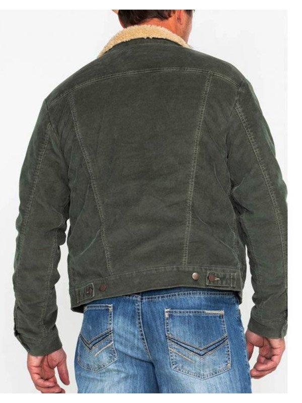 High School Musical Joshua Bassett Green Jacket