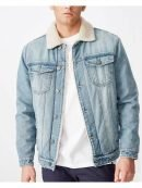 High School Musical Rickey Fur Collar Denim Jacket