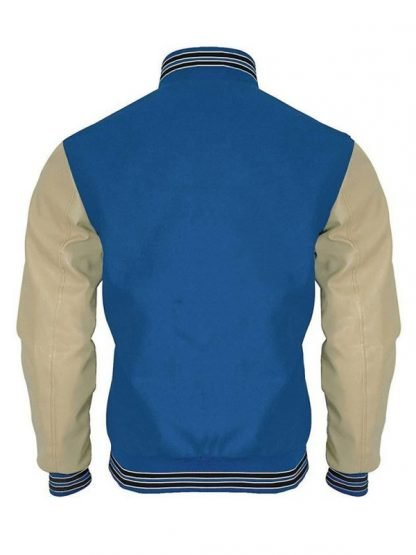 Justin Foley 13 Reasons Why Blue Bomber Jacket