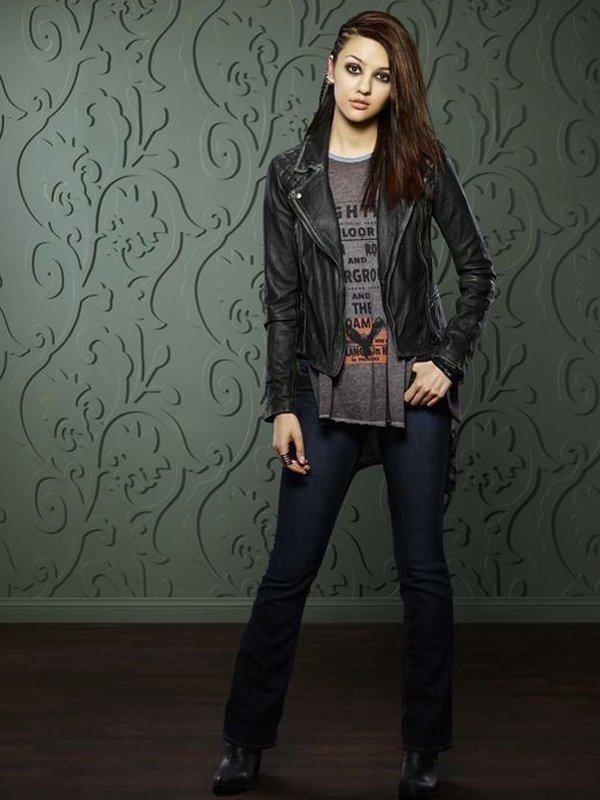 Katie Findlay How to Get Away With Murder Biker Leather Jacket
