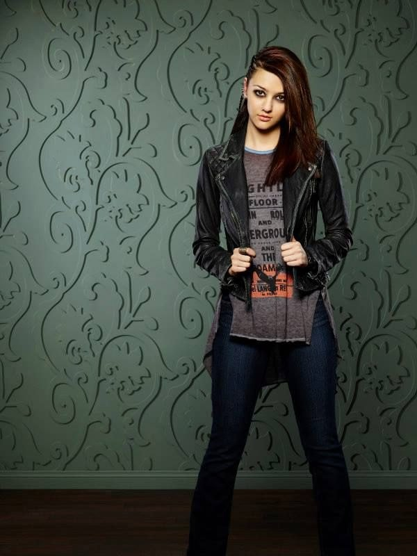 Katie Findlay How to Get Away With Murder Black Leather Jacket
