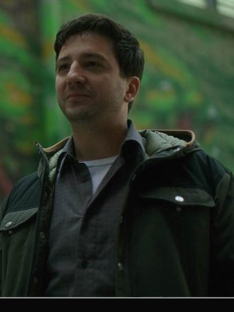 Leonard PLeonard Peabody The Umbrella Academy Green Hooded Jacketeabody The Umbrella Academy Green Hooded Jacket