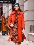 Lexi Modern Love Orange Coat