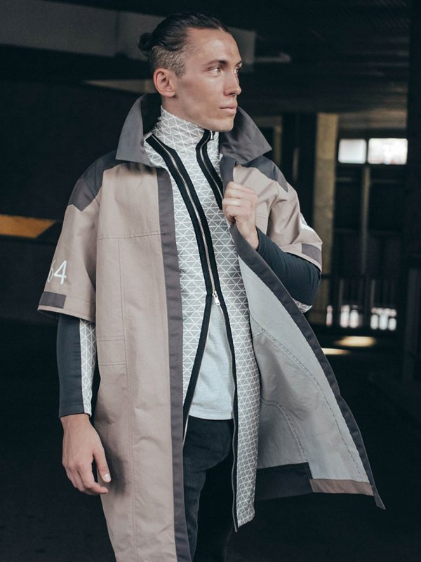 Marcus Detroit Become Human RK200 Brown Coat