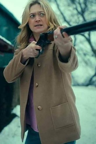 Marin Ireland The Umbrella Academy S02 Wool Coat