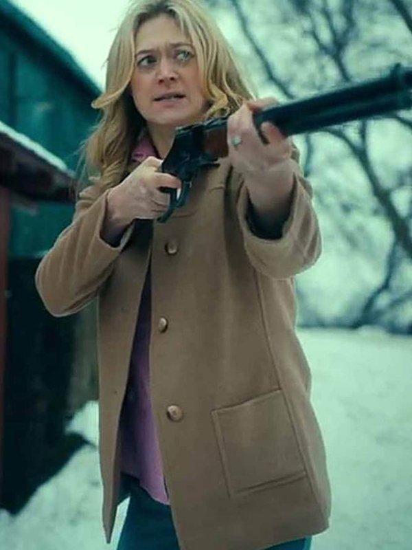 Marin Ireland The Umbrella Academy S02 Wool Coat