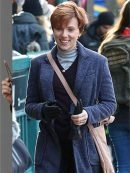 Marriage Stor Nicole Barber Blue Trench Coat