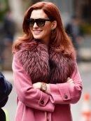 Modern Love Anne Hathaway Pink Coat