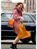 Modern Love Lexi Pink Fur Coat