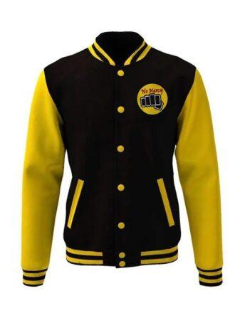 Moletom Karate Kid Cobra Kai Snake Logo Bomber Jacket