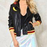 Olivia Rodrigo High School Musical Black Leather Jacket