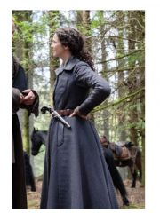 Outlander Claire Randall Wool Coat