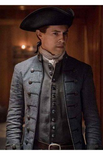 Outlander S04 Lord John Grey Cotton Coat