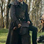 Outlander S05 Jamie Fraser Grey Trench Coat