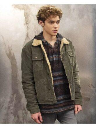 Ricky High School Musical Green Denim Jacket