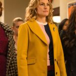 Riverdale Alice Cooper Yellow Wool Coat