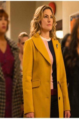 Riverdale Alice Cooper Yellow Wool Coat