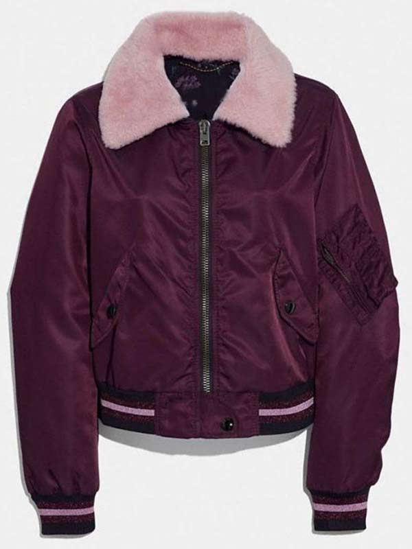 Riverdale Betty Cooper Maroon r Jacket