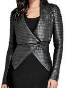 Riverdale Cheryl Blossom Black Leather Jacket