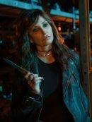 Riverdale Gladys Jones Black Leather Jacket