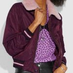 Riverdale S04 Betty Cooper Maroon Bomber Jacket