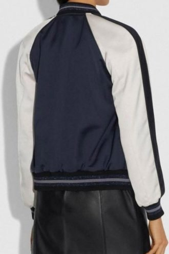 Riverdale S04 Lili Reinhart Blue Bomber Jacket