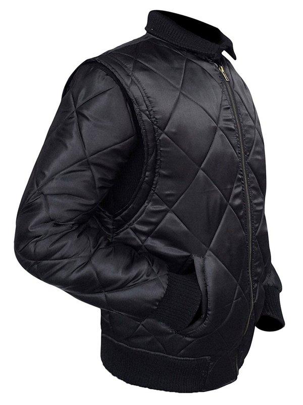 Ryan Gosling Drive Black Bomber Jacket