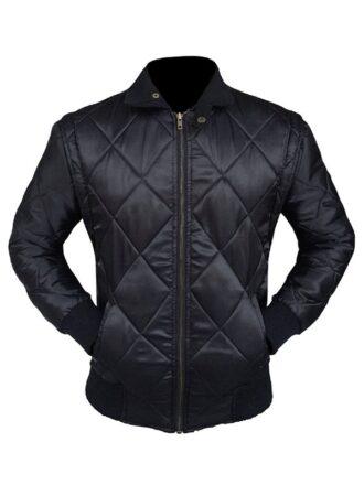 Ryan Gosling Drive Black Bomber Scorpion Jacket