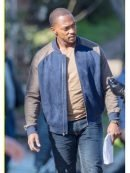 Sam Wilson The Falcon And The Winter Soldier Varsity Jacket